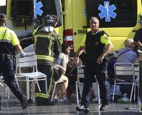 Barcelonadaki terör saldırısında ilk kareler