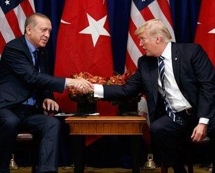 Cumhurbaşkanı Erdoğan ile Trump arasındaki görüşme bitti