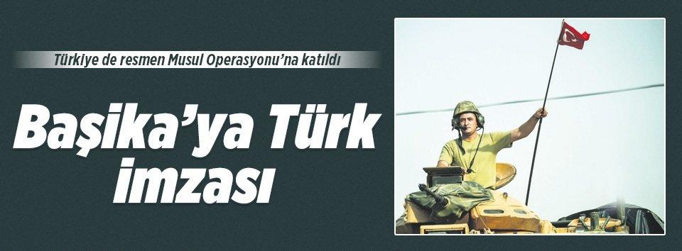 Başika'ya Türk imzası