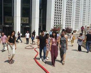 Ankarada panik! AVM boşaltılıyor