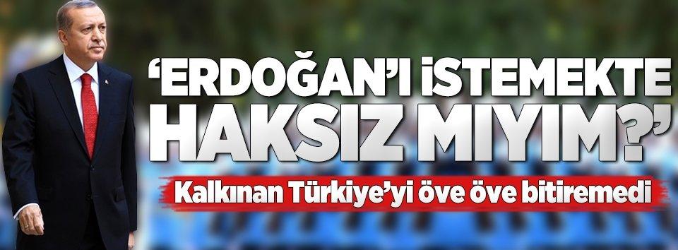 Laffer: Erdoğanı istemekte haksız mıyım?