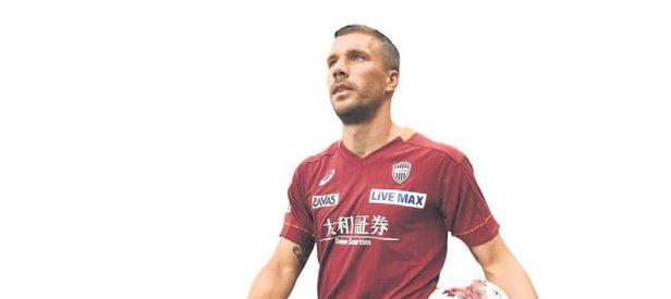 Lukas Podolski'den süper start