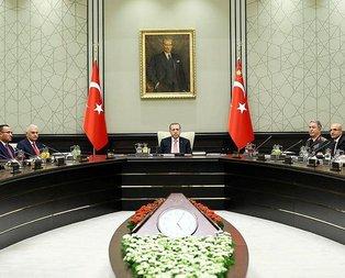 Ankarada kritik gün! MGK toplantısı başladı