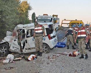 Adıyamanda feci kaza: 7 ölü