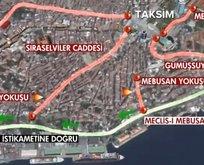 1 Mayısta İstanbulda trafiğe kapalı yollar!