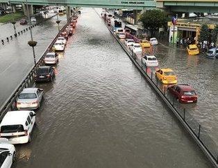 İşte İstanbul'dan yağmur görüntüleri