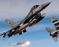 Jetler terör örgütü PKKya bomba yağdırdı