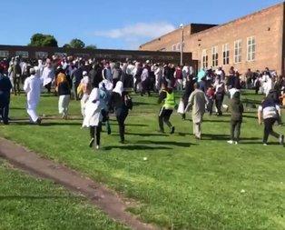 İngilterede bayramlaşan Müslümanlara saldırı
