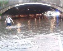 Köln sular altında kaldı