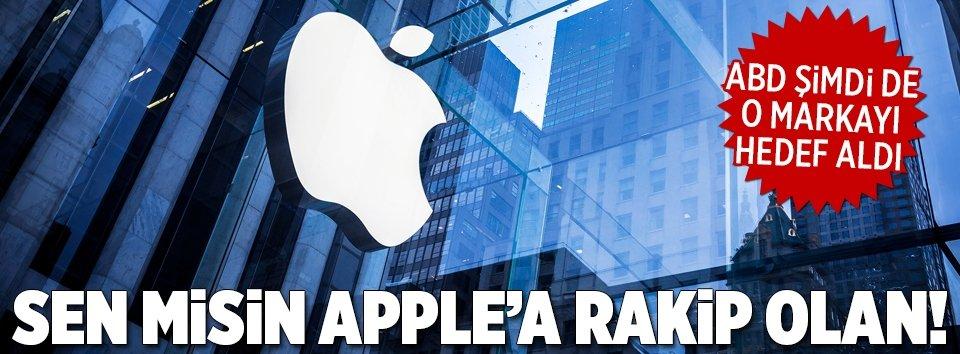 Sen misin Apple'a rakip olan