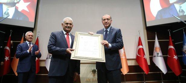 AK Parti tüzüğüne Genel Başkan Vekilliği eklendi