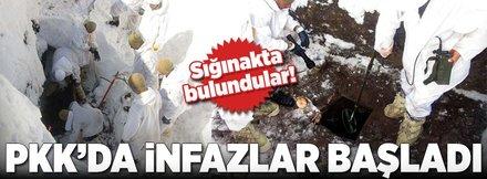PKK sığınağında 2 ceset bulundu