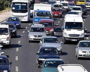 Trafikteki araç sayısı 20 milyonu aştı