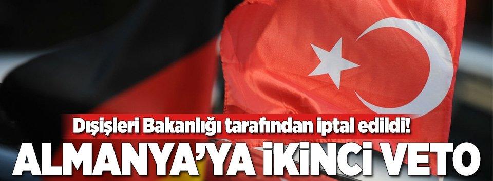 Alman vekillerin Türkiye ziyareti iptal edildi