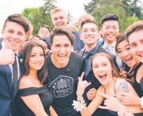 Başkan Trudeau'dan öğrencilere sürpriz
