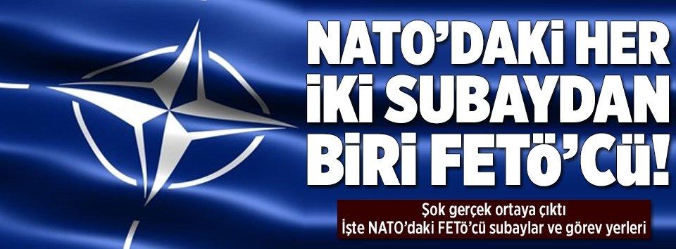 NATO'daki her iki subaydan biri FETÖcü