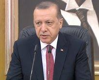 Cumhurbaşkanı Erdoğandan Müslümanlara çağrı