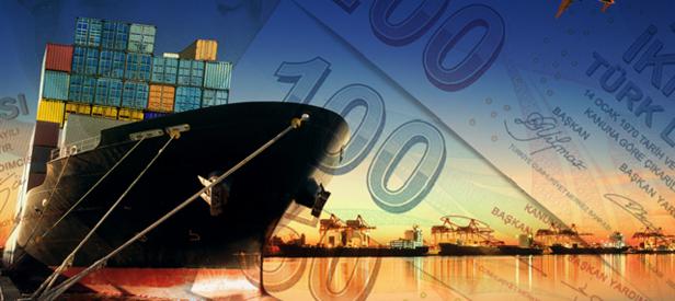 Türk lirası ile ihracat yüzde 102 arttı