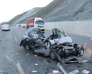 Erzincanda feci kaza: 5 ölü