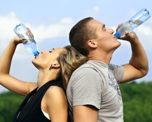 Vücut direnci için bol su için