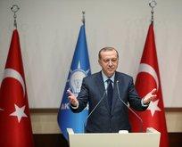 Erdoğan: Gönlümüz hep beraberdi