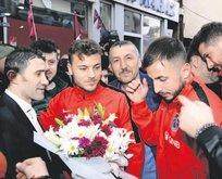 Trabzon krallar gibi karşılandı