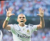 Pepe ile sıcak temas