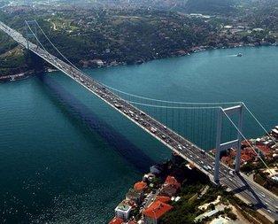 Fatih Sultan Mehmet Köprüsünde çalışma