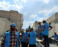 TDV El Babda ramazan kolisi dağıttı