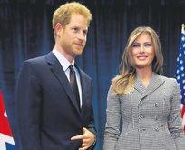 First Lady Prens'le buluştu