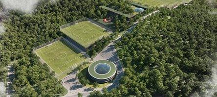 İşte Galatasarayın yeni tesisi!