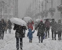 İstanbula kar geliyor