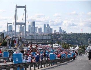 15 Temmuz Şehitler Köprüsü'ne akın akın geldiler