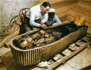 Tutankamon'un mezar odasını ilk kez göreceksiniz!
