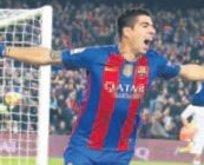 Neymar imzaladı sıra Suarez'de