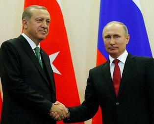 Putin ve Erdoğan arasında kritik görüşme