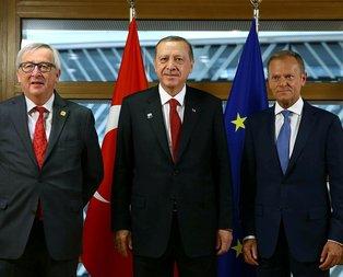 Erdoğan'dan 5 mesaj