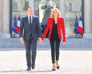 Macron'un işi yaş
