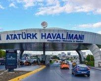 Atatürk Havalimanında şüpheli paket alarmı