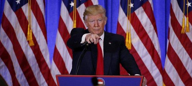 Trumptan ilk basın toplantısı