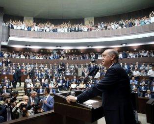 Cumhurbaşkanı Erdoğandan sürpriz toplantı