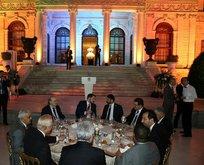 Bakan Albayrak enerji devlerini Dolmabahçe'de ağırladı