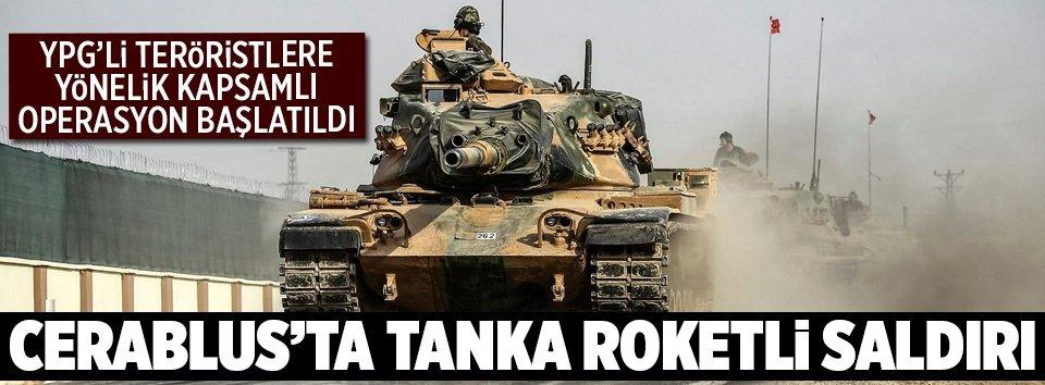 Cerablusta tanka saldırı