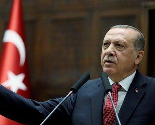 Cumhurbaşkanı Erdoğandan çarpıcı mesaj!