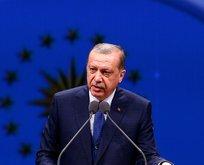 Erdoğandan önemli mesaj: Bize düşen...