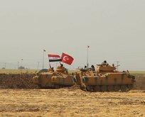 Haburdaki tatbikata Iraklı askerler de katıldı