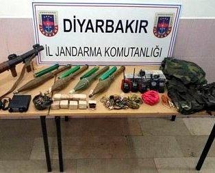 PKKlı teröristlerin inlerine girildi!