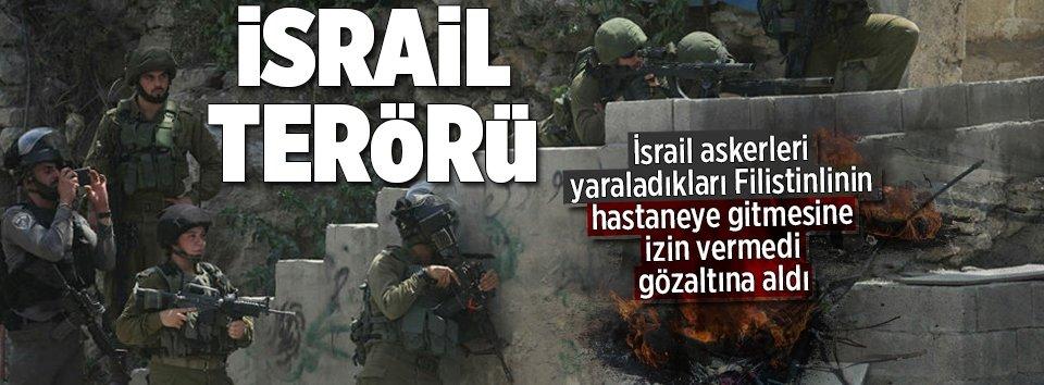 Katil İsrailden Filistinlilere sert müdahale