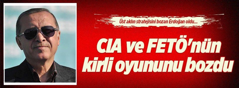Neo-con planını Erdoğan bozdu