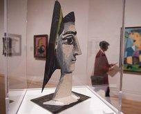 Picassonun portreleri Londrada
